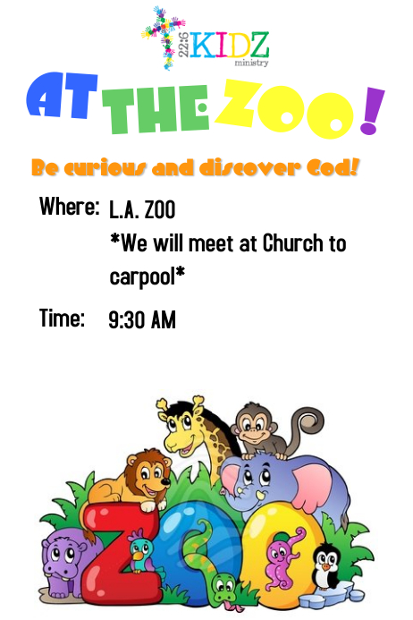zoo flyers template postermywall