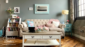 2 790 Shabby Chic Room Zoom Background Customizable Design Templates Postermywall