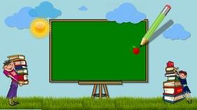 zoom background/school/education/escuela/kids