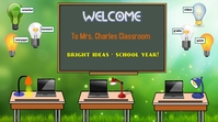 zoom backgrounds/school/virtual class/covid19 Isethulo (16:9) template