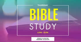 ZOOM BIBLE STUDY TEMPLATE
