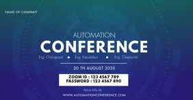 ZOOM CONFERENCE TEMPLATE Facebook 共享图片
