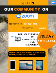 ZOOM MEETING FLYER TEMPLATE