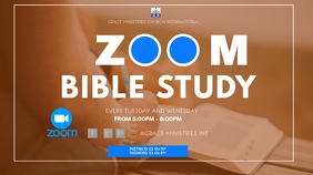 ZOOM ONLINE BIBLE STUDY TEMPLATE