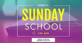 ZOOM SUNDAY SCHOOL TEMPLATE Facebook Shared Image