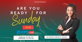 ZOOM SUNDAY SERVICE TEMPLATE