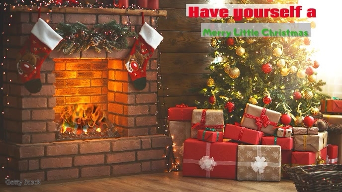 zoom video background christmas navidad party template postermywall zoom video background christmas navidad party