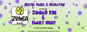 Zumba Family Night FB Cover template