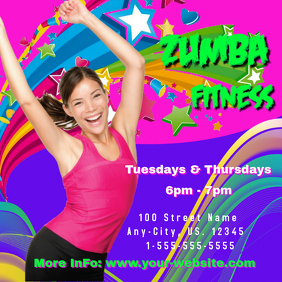 Zumba Fitness Intragram Header