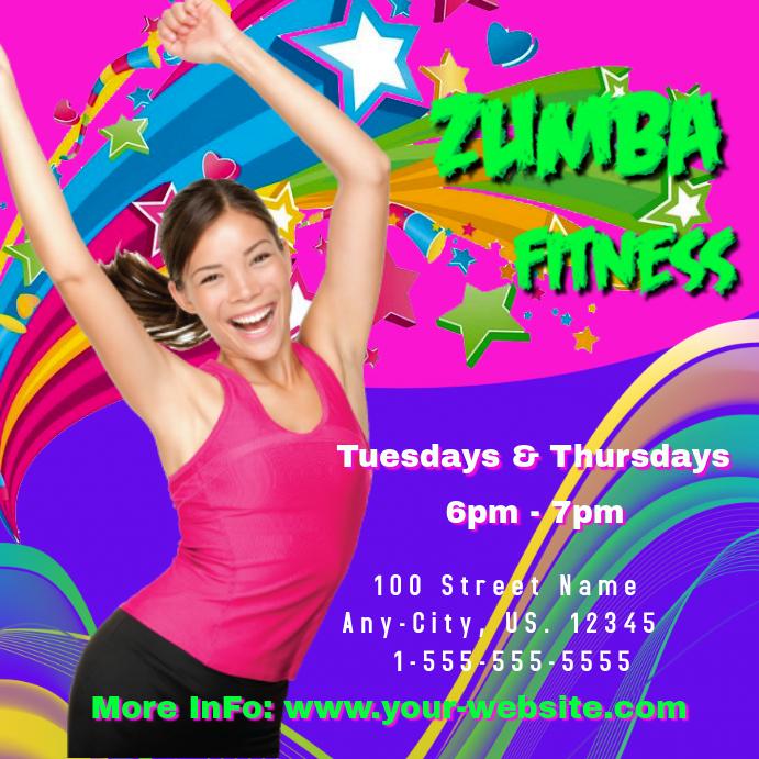 Zumba Fitness Intragram Header