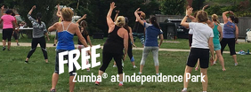 Zumba outdoors