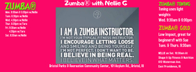 Zumba Page FB Cover template