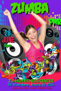Zumba Party Template