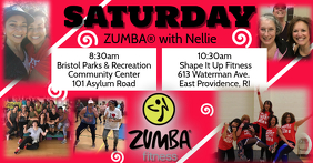 Zumba with Nellie Saturday Schedule