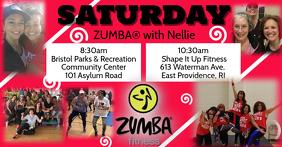 Zumba with Nellie Saturday Schedule