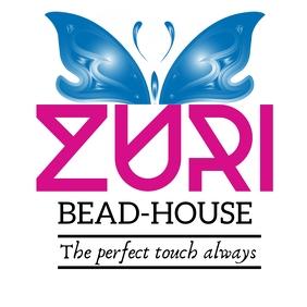 Zuri beadhouse logo Logotipo template